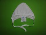 Cepure jaundzimušajam ar ārējām vīlītēm (balta)  1.41